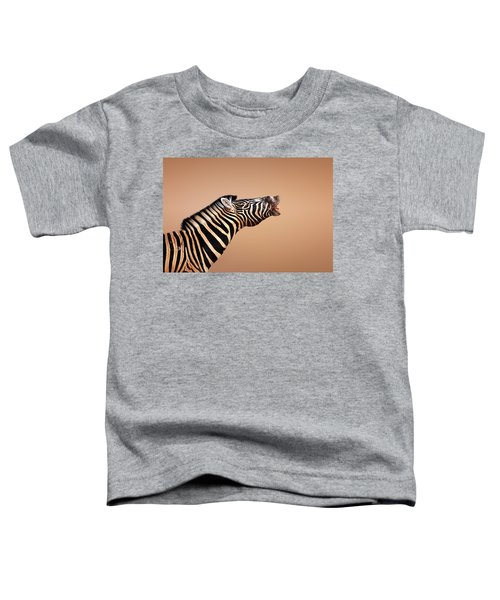 Zebra Calling Toddler T-Shirt