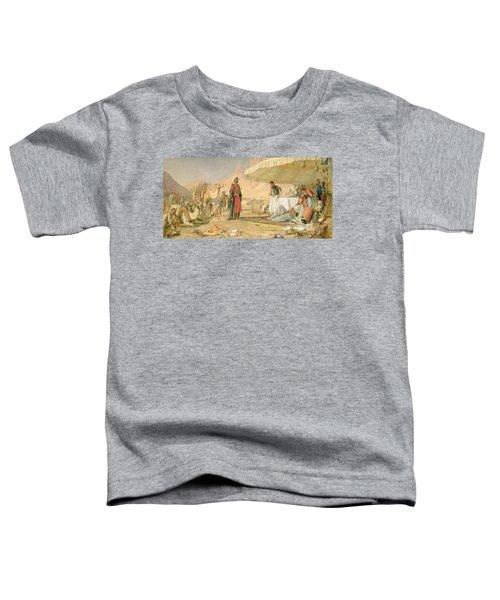 A Frank Encampment In The Desert Of Mount Sinai Toddler T-Shirt