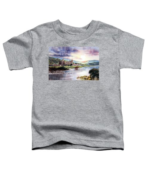 Late Evening At Tintern Abbey Toddler T-Shirt