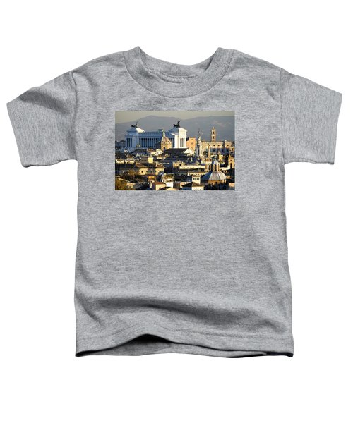 Rome's Rooftops Toddler T-Shirt