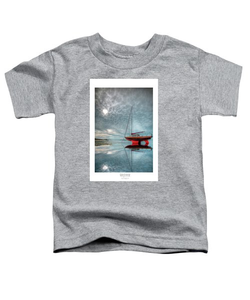 Waiting For The Tide Toddler T-Shirt