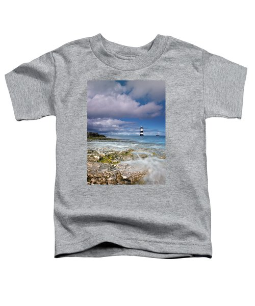 Fishing By The Lighthouse Toddler T-Shirt