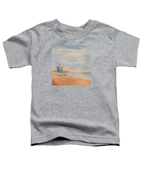 Morning By The Beach Toddler T-Shirt