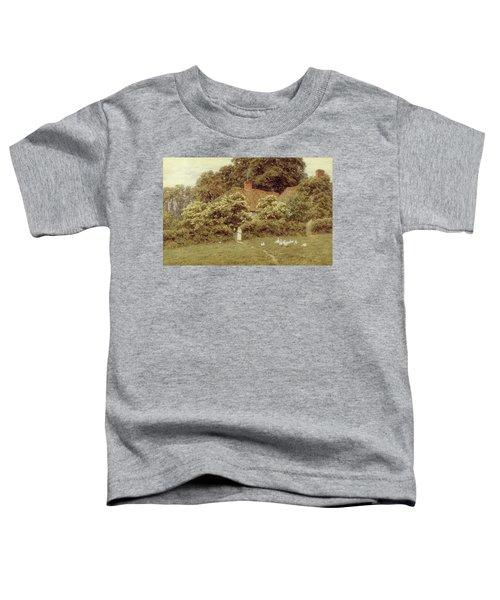 A Cottage At Farringford Isle Of Wight Toddler T-Shirt