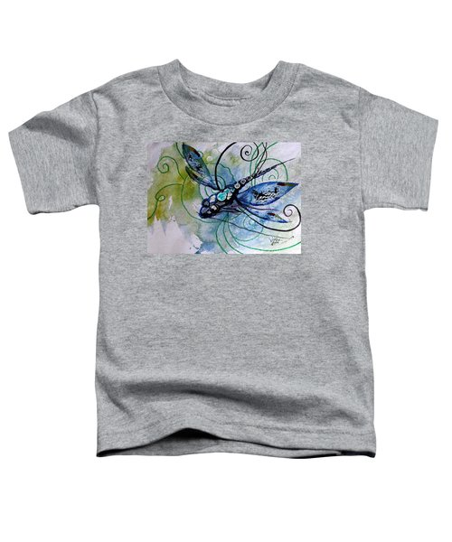 Abstract Dragonfly 10 Toddler T-Shirt