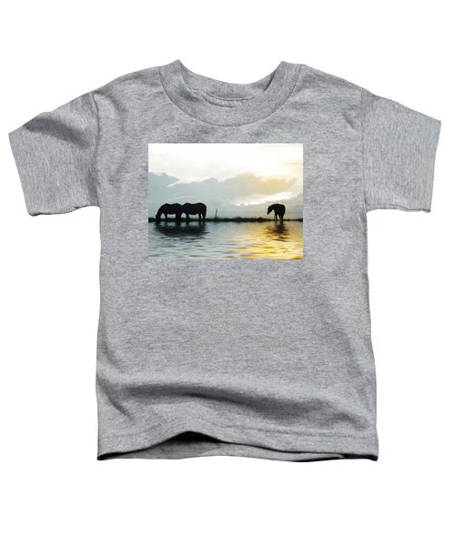 Toddler T-Shirt featuring the photograph Alone by Susan Kinney