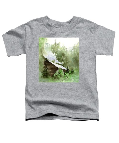 Backcountry Morning Toddler T-Shirt