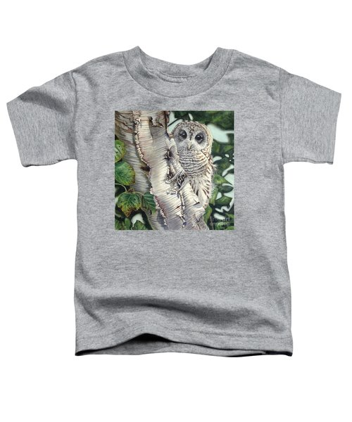 Barred Owl II Toddler T-Shirt