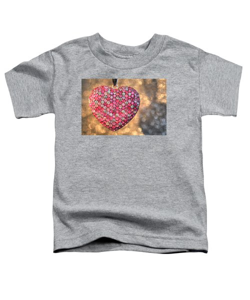 Bedazzle My Heart Toddler T-Shirt