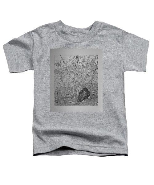 Bird In Winter Toddler T-Shirt