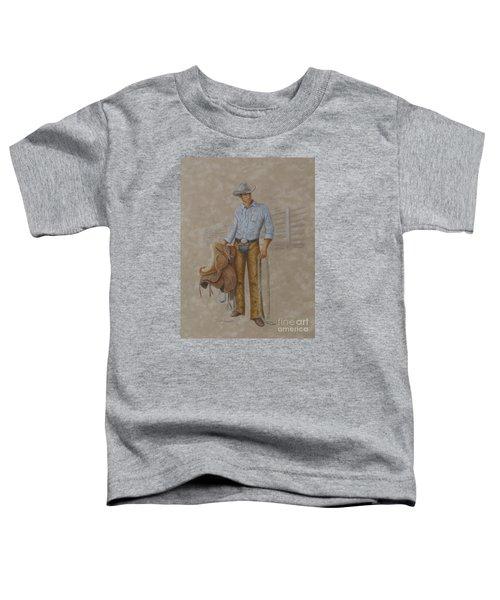 Busted Bronc Rider Toddler T-Shirt