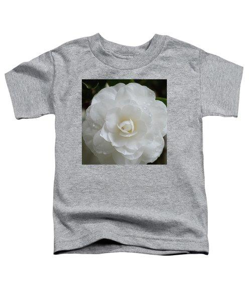 Camellia After Rain Storm Toddler T-Shirt