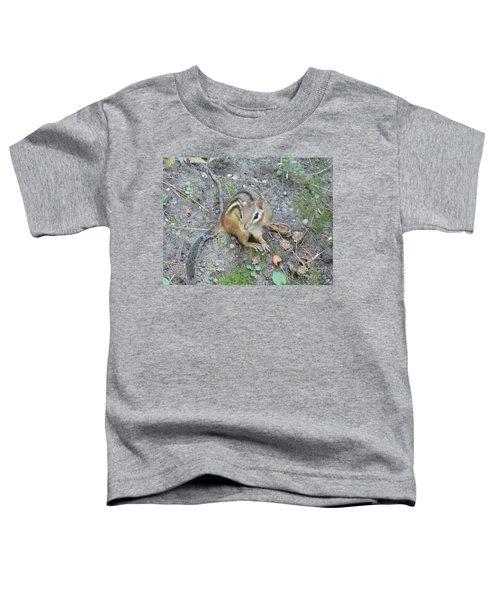 Chipmunk Feast Toddler T-Shirt