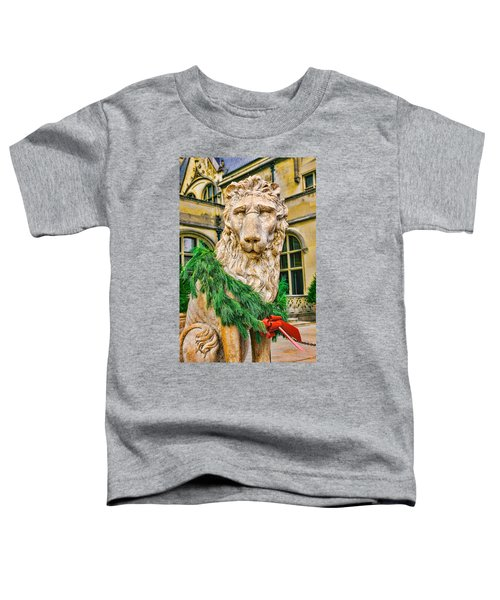 Christmas Lion At Biltmore Toddler T-Shirt