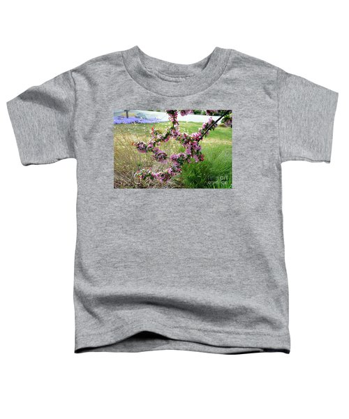 Circle Of Blossoms Toddler T-Shirt