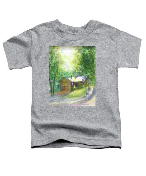 Cool Colorado Cabin Toddler T-Shirt