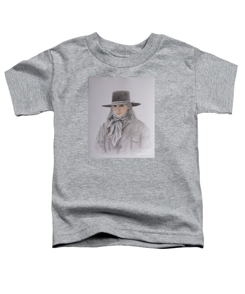 Cowgirl In Hat Toddler T-Shirt