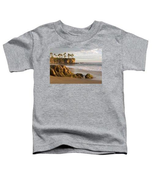 Crescent Bay Beach Laguna Toddler T-Shirt