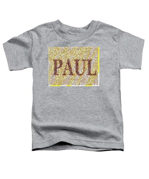 Custom Paul Mosaic Taylor Swift Toddler T-Shirt