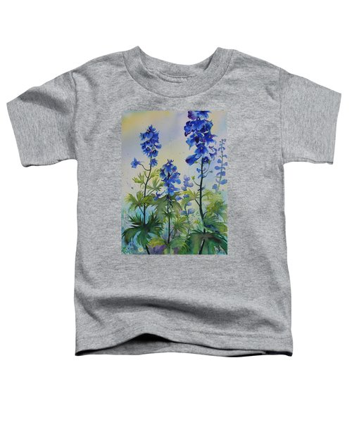 Delphiniums Toddler T-Shirt