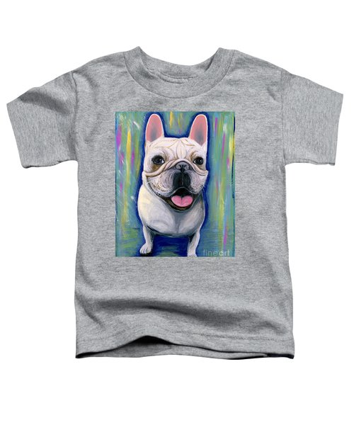 Dino The French Bulldog Toddler T-Shirt