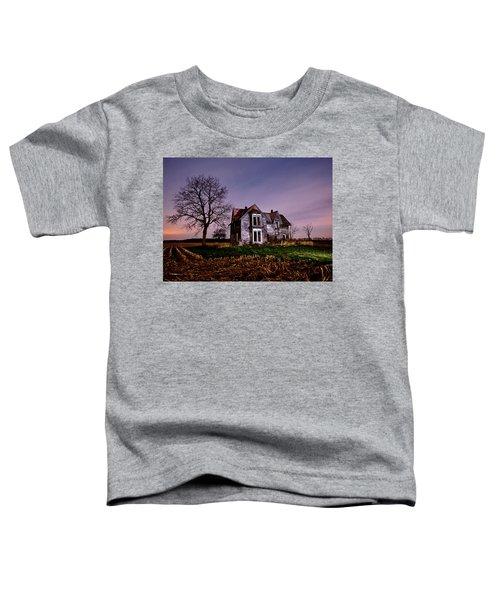 Farm House At Night Toddler T-Shirt