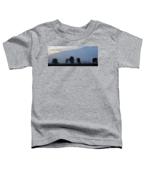 Foggy Pennsylvania Treeline Toddler T-Shirt