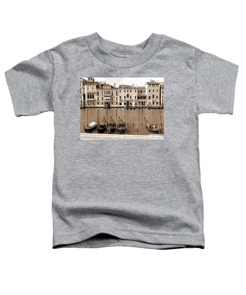 Gondolas Outside Salute Toddler T-Shirt