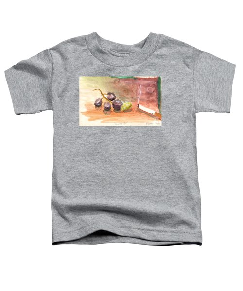 Grapeality Toddler T-Shirt by Rod Ismay