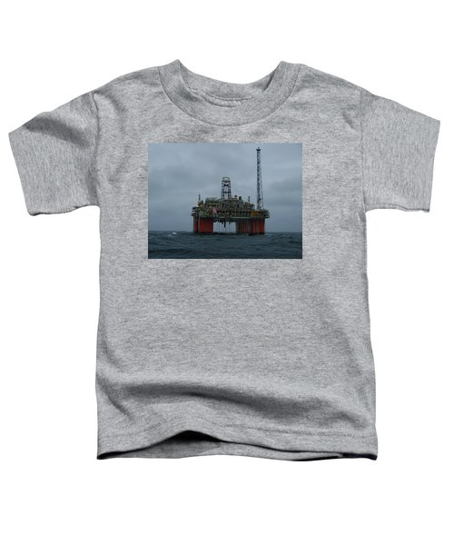 Grey Day At Snorre Toddler T-Shirt