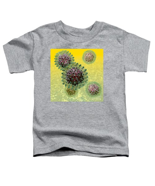 Hepatitis B Virus Particles Toddler T-Shirt