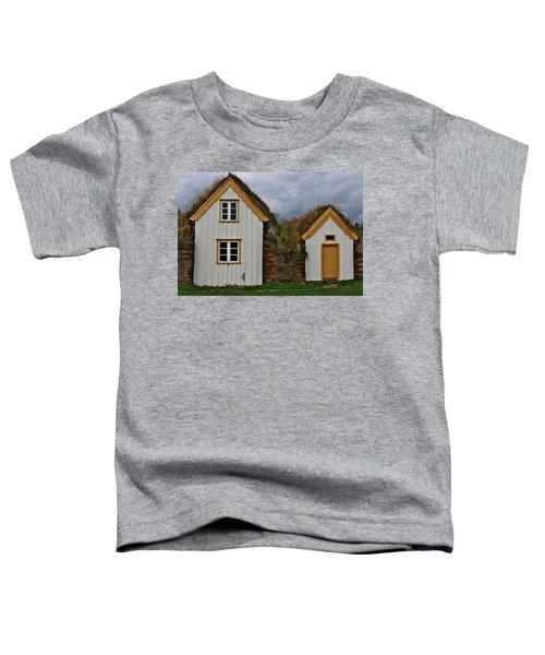 Icelandic Turf Houses Toddler T-Shirt