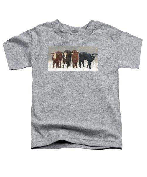 Inquisitive Calves Toddler T-Shirt