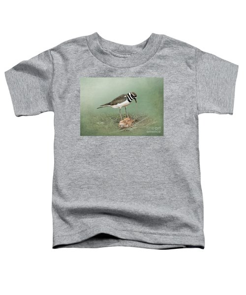 Killdeer And Worm Toddler T-Shirt