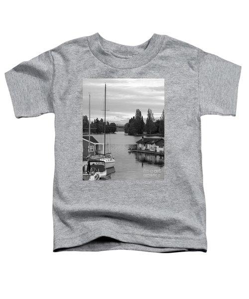 Morning In Montlake Toddler T-Shirt