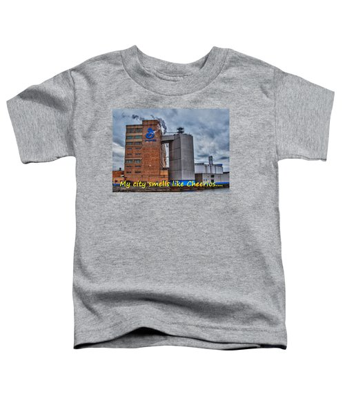 My City Smells Like Cheerios Toddler T-Shirt