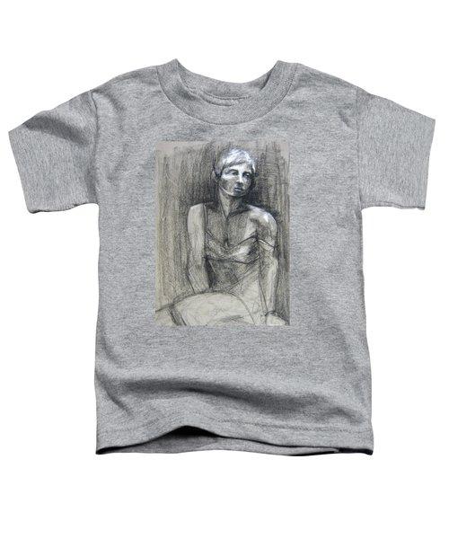 Off The Shoulder Toddler T-Shirt