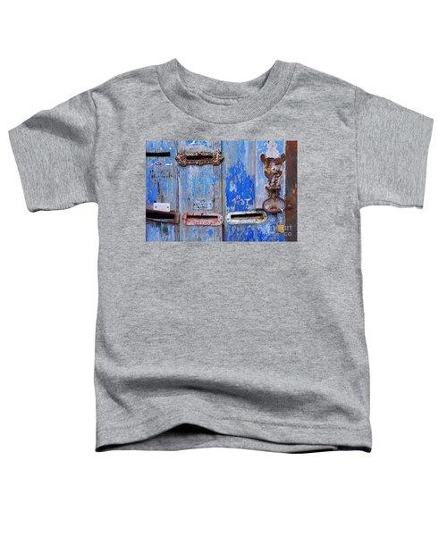 Old Mailboxes Toddler T-Shirt