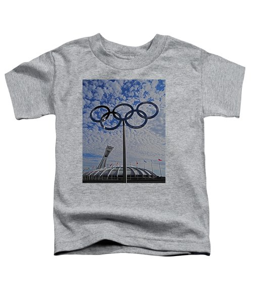 Olympic Stadium Montreal Toddler T-Shirt