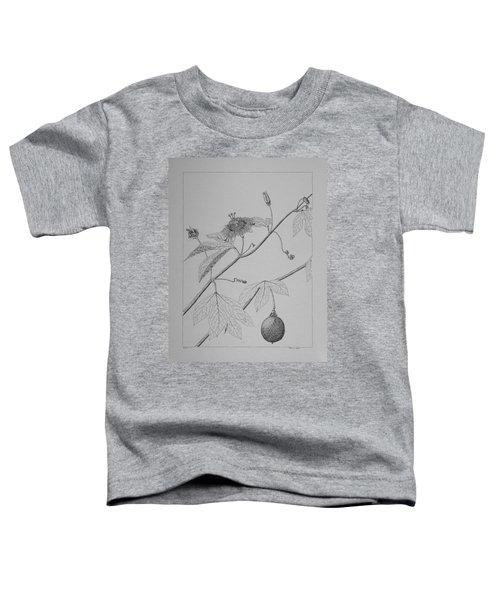 Passionflower Vine Toddler T-Shirt