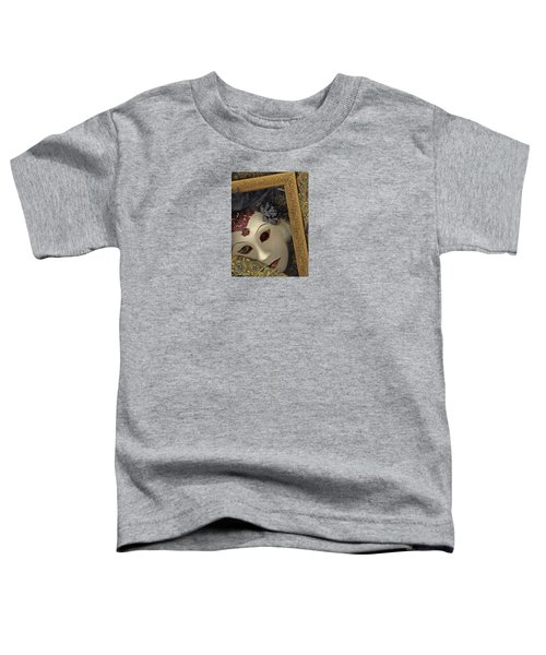 Toddler T-Shirt featuring the mixed media Pensive by Nareeta Martin