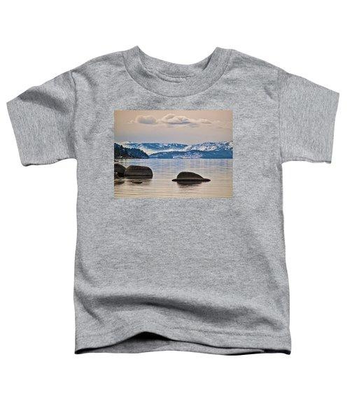Quiet Lake Tahoe Toddler T-Shirt