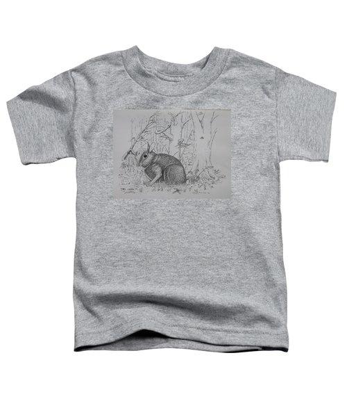 Rabbit In Woodland Toddler T-Shirt