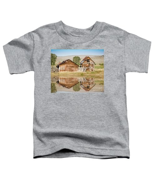 Reflection Of An Old Building Toddler T-Shirt