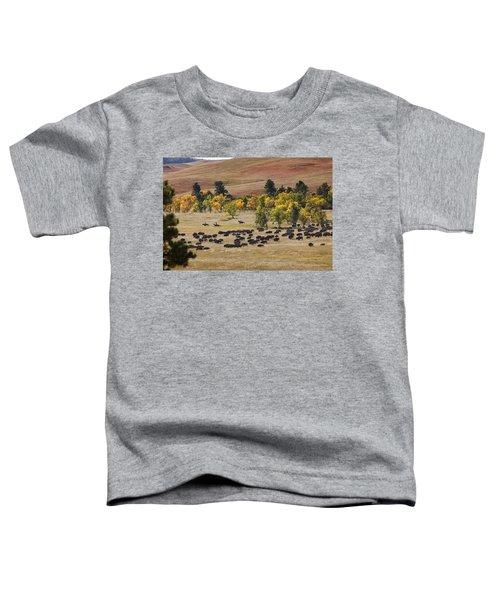 Riders Turning The Herd Toddler T-Shirt