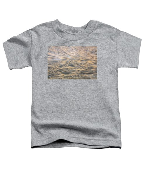 Toddler T-Shirt featuring the photograph Sand Patterns by Nareeta Martin