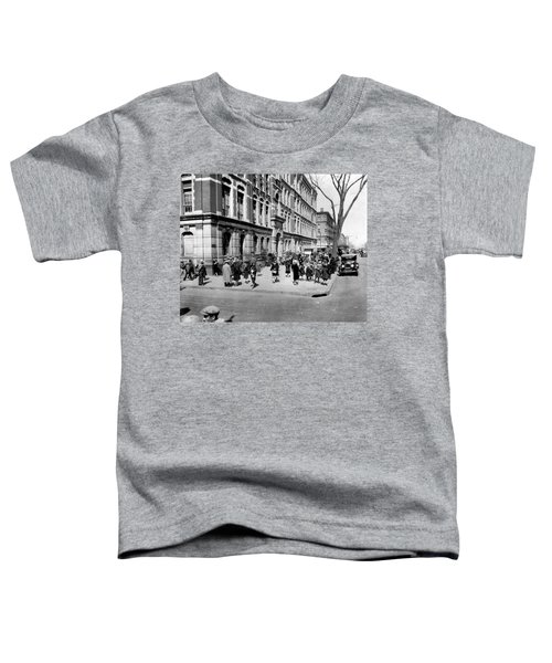 School's Out In Harlem Toddler T-Shirt by Underwood Archives