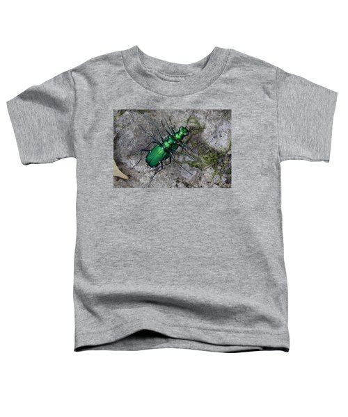 Six-spotted Tiger Beetles Copulating Toddler T-Shirt
