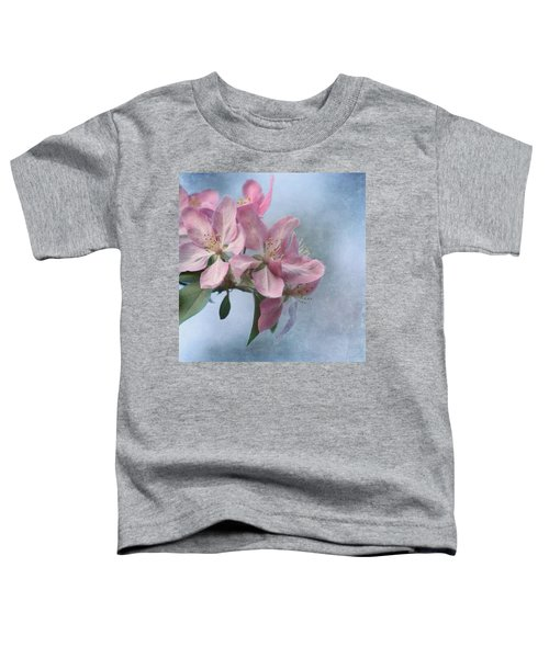 Spring Blossoms For The Cure Toddler T-Shirt