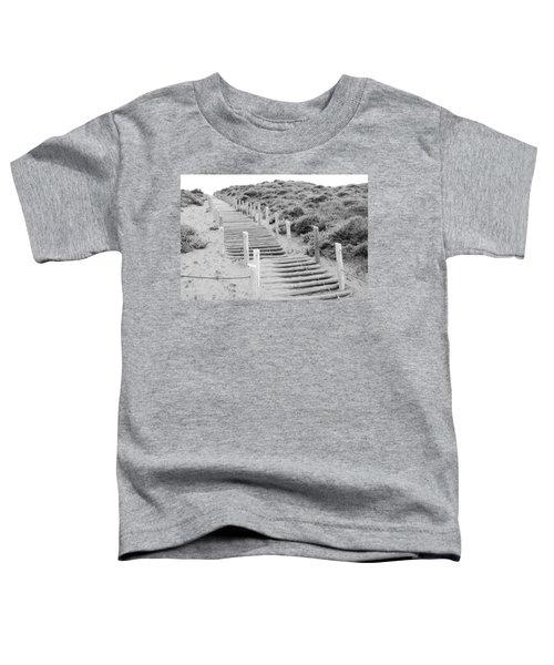Stairs At Baker Beach Toddler T-Shirt